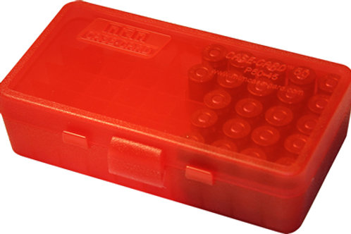 MTM Case-Gard Ammo Box P5045 - P50 Series 45 ACP 50 Rds - Mixed Colours