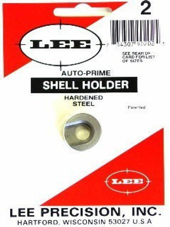 Lee precision PRIMING TOOL SHELL HOLDER #2 Cal 25/06 - 8x 57 - 45 ACP 90202