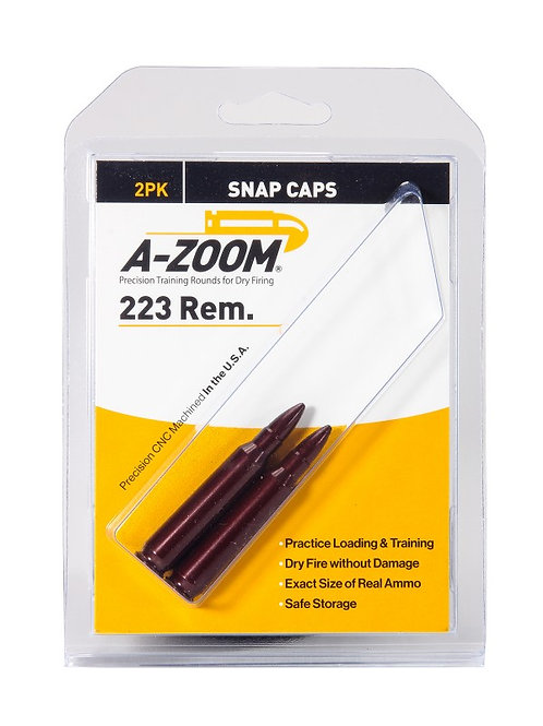 223 Remington Snap Caps - Pack of 2 Ref: 12222