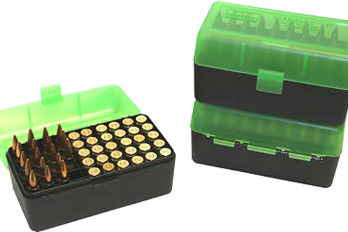 MTM Case-Gard Ammo Box RS-S50 - P50 Series 50 Rds Short Medium - Mixed Colours