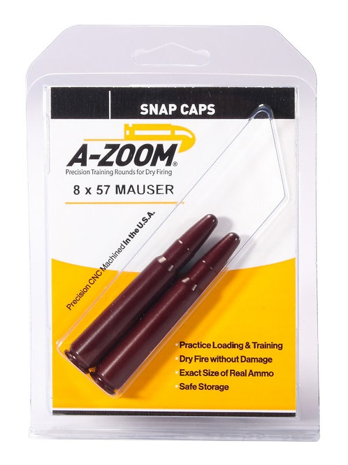 8 x 57 Mauser (7.92) Snap Caps - Pack of 2 Ref: 12235