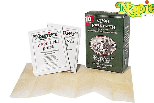 Napier field patch box of 10 VP90 gun cleaner corrosion protection