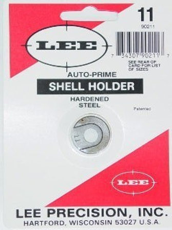 Lee precision PRIMING TOOL SHELL HOLDER #11 Cal 44 Spl/Mag/45 Colt 90211