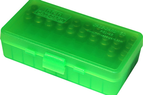 MTM Case-Gard Ammo Box P503 - P50 Series 38/357 50 Rds - Mixed Colours