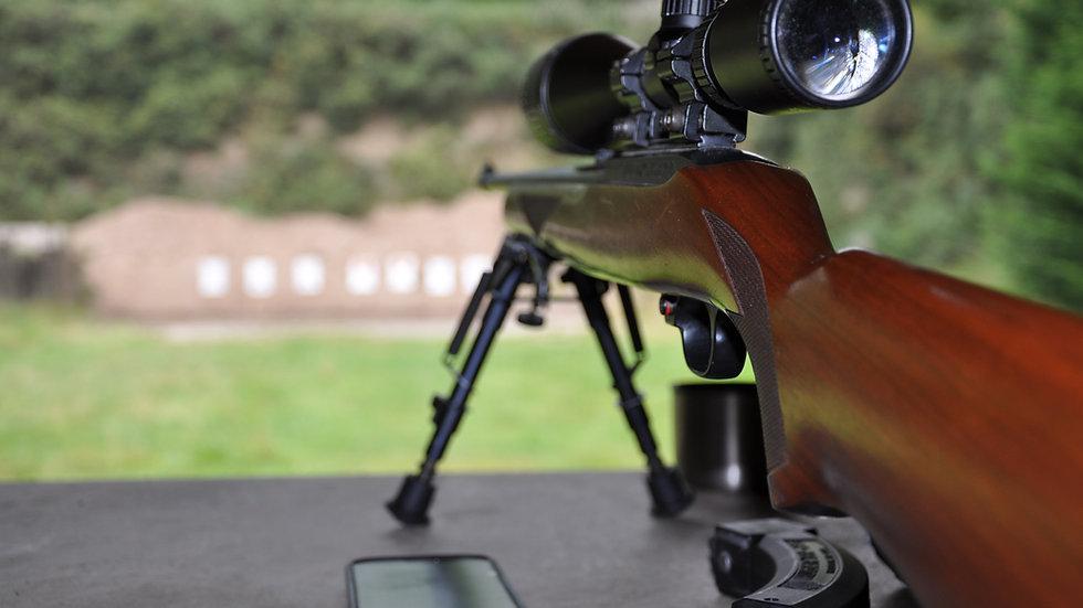 Air Rifle Range Fee £20.00
