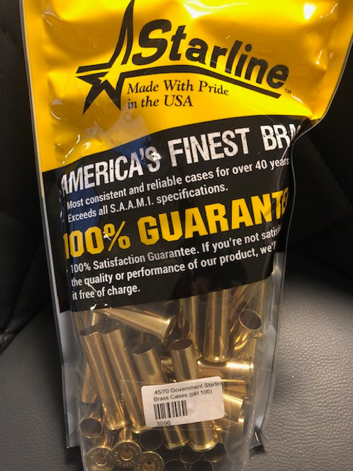 45-70 Govt Brand New Brass Starline (100 Cases)