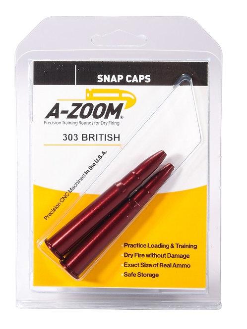 303 British Snap Caps - Pack of 2 Ref: 12226