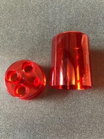 Lee Precision 3 Die Round Box (Red) 90535