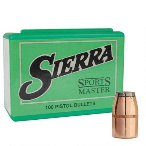 Sierra 38 Cal .357 Dia 158gn JSP Bullets x 100