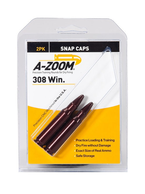 308 Winchester Snap Caps - Pack of 2 Ref: 12228
