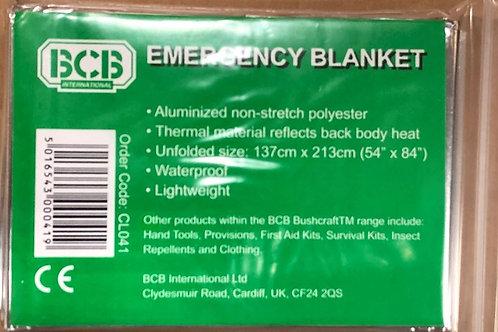 Foil Hypothermia Blanket (Silver) BCB-RP041
