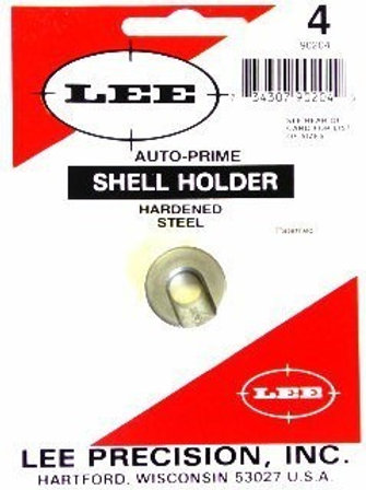 Lee precision PRIMING TOOL SHELL HOLDER #4 Cal 223 Rem - 17 Rem - 204 Rug 90204