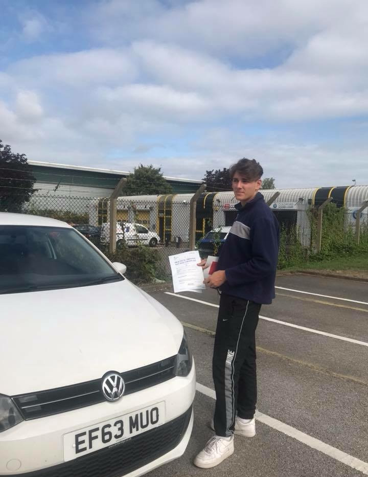 First time pass for our Grayshott Driving School student