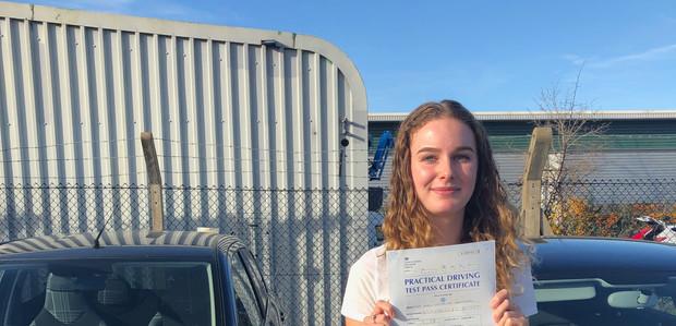 Liphook driving school lesson student - Holly Blackshaw