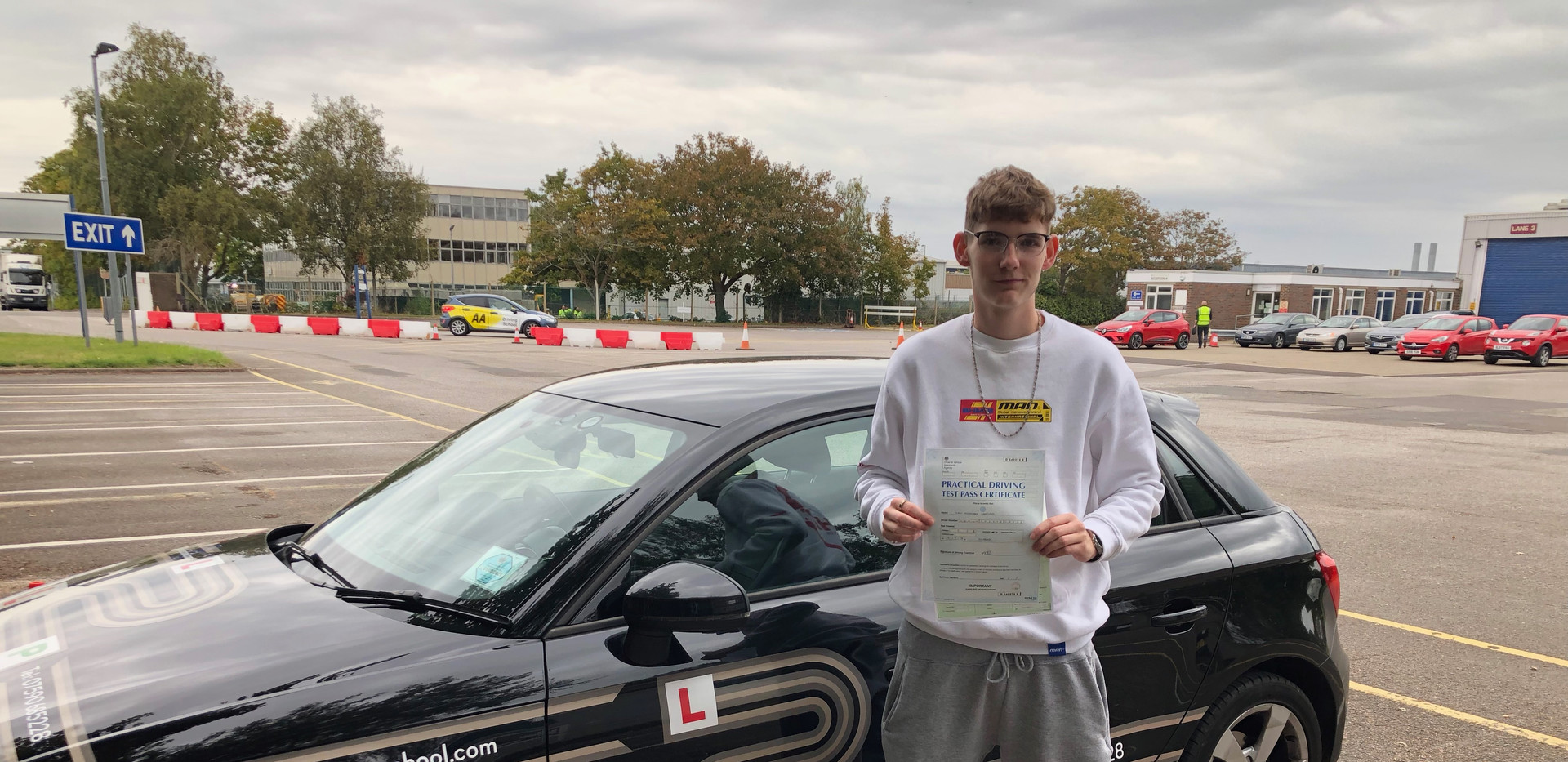 Owen passes at Guildford Test Centre
