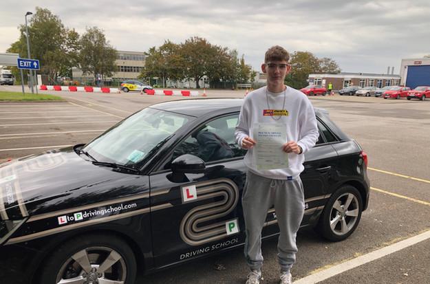 Owen passes at Guildford Test Centre
