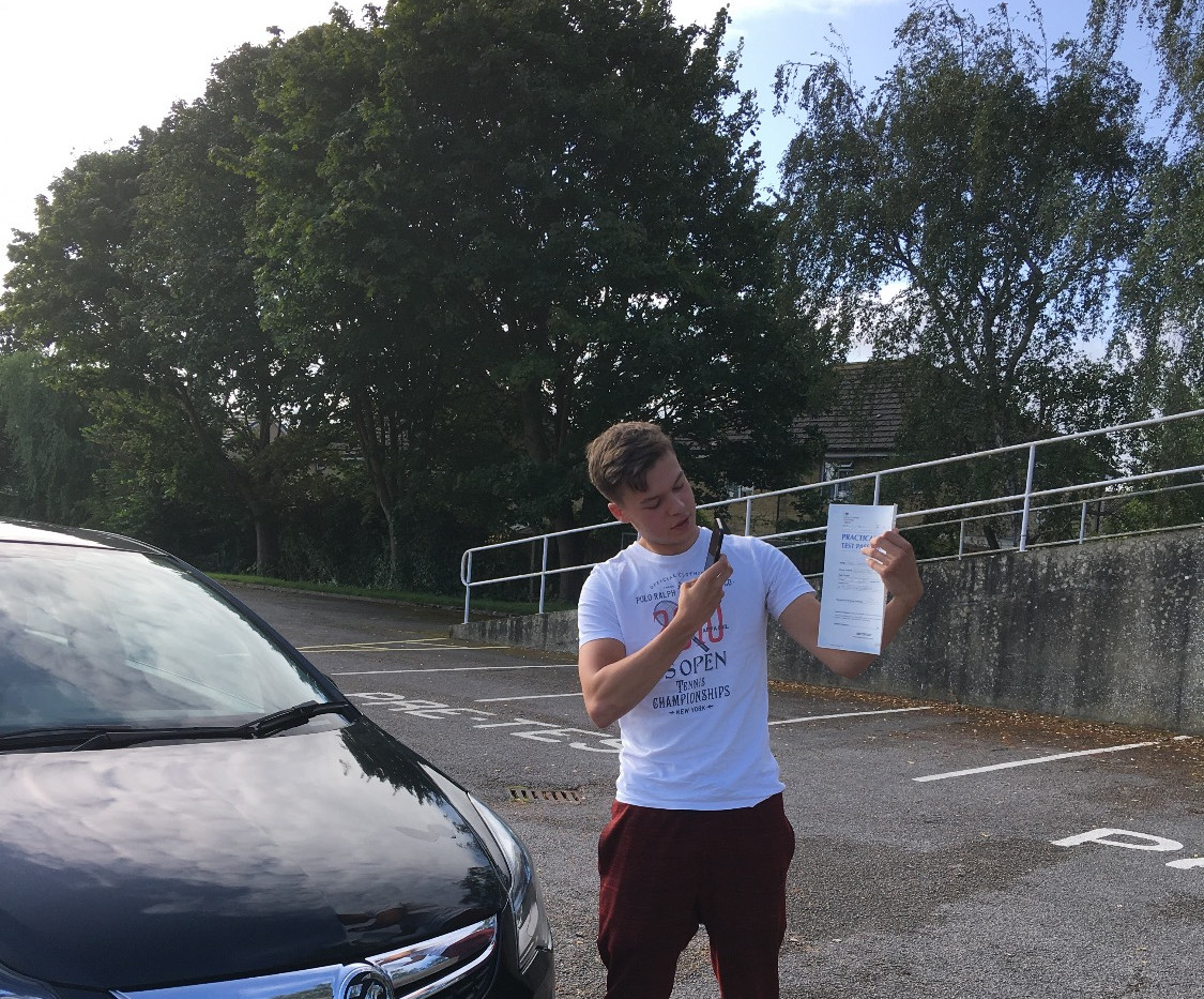 Toby Armstrong passes first time