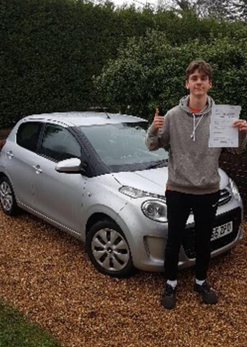 Liphook driving school student success