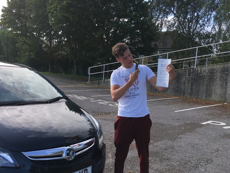 First time pass for Toby