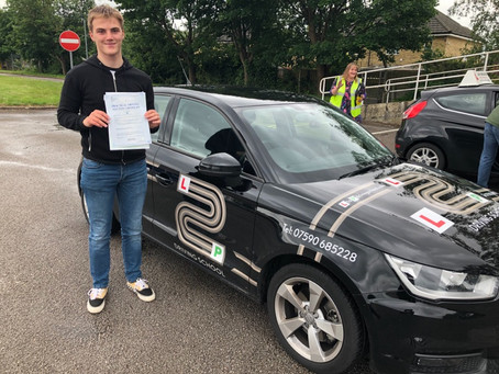A superb first time pass for Spencer