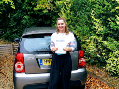 Haslemere driving lessons student  - Ella Mitchell
