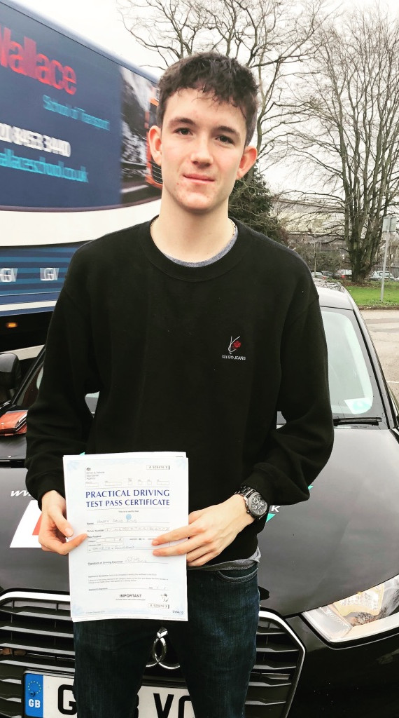 Hindhead driving lesson student, Harry King
