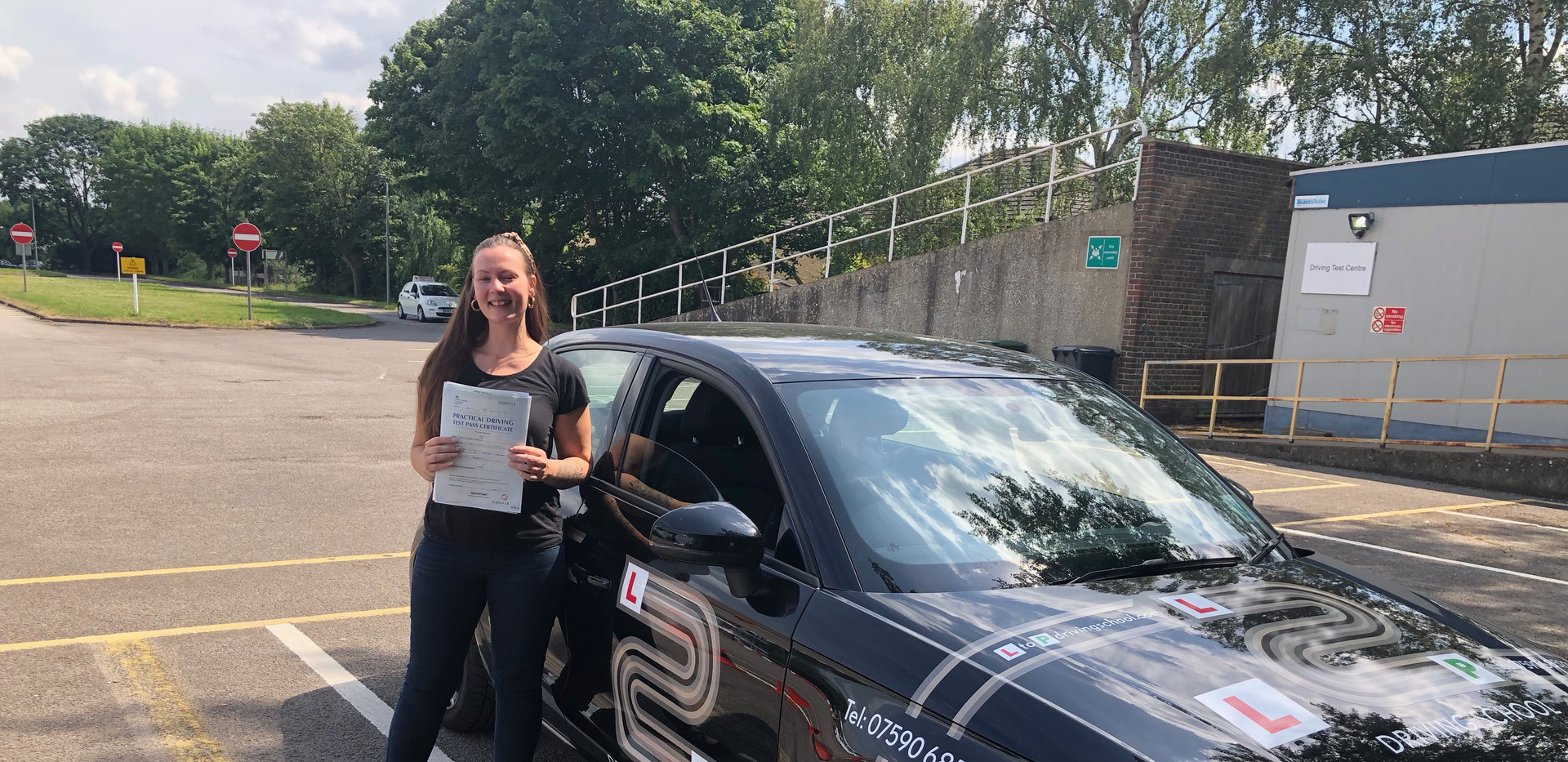 First time pass for Josie, our elstead driving lesson student