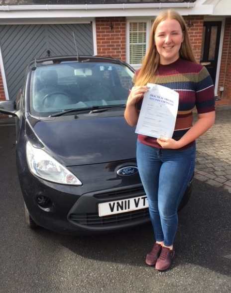 Chiddingfold driving lesson student - Ab