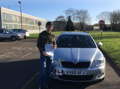 First time pass for our Cranleigh Driving School Student