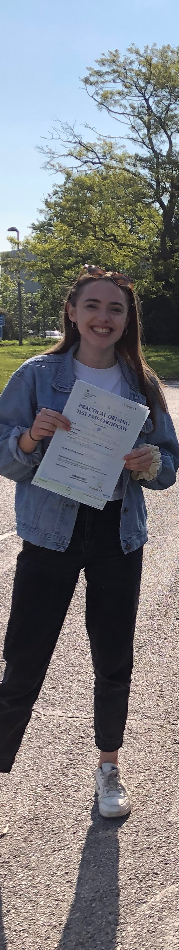 Congratulations to Immy, a Hindhead Driving School lesson student, who passed FIRST time at Guildford Test Centre