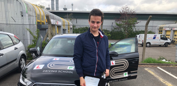 Haslemere Driving lesson student, Dan Cox, passes in Guildford