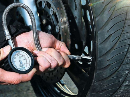 Stay safe with regular tyre pressure checks