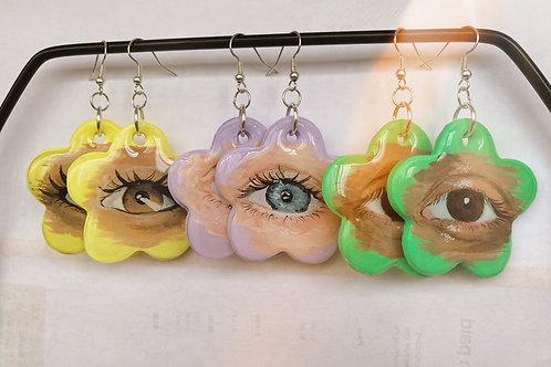 Custom Lover's Eye Earrings
