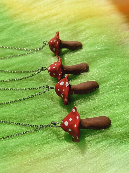 Mushroom Pendant
