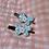 Thumbnail: Blue Butterfly hair clips