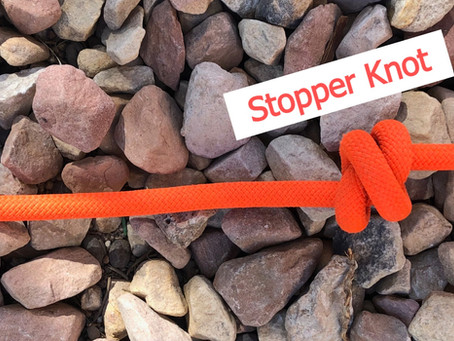 How to Tie a Stopper Knot.
