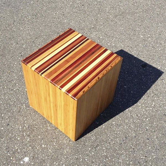 furninture titled Touch Cube by artist benjamin mclaughlin.