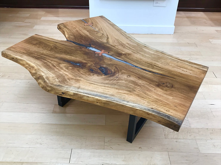 furninture titled SOLD_Butternut Coffee Table by artist benjamin mclaughlin.