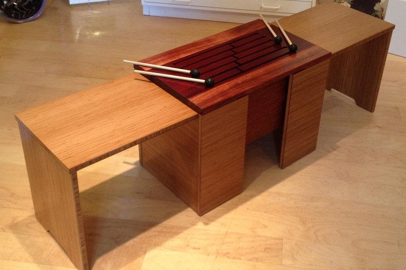 furninture titled SOLD-Sound Resonating Furniture by artist benjamin mclaughlin.