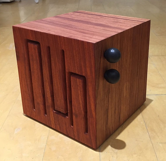 furninture titled SOLD-Mini Cube Drum by artist benjamin mclaughlin.