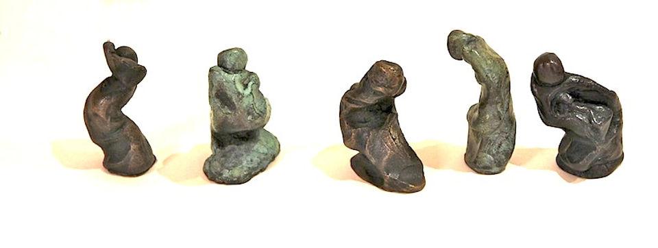 bronze sculpture titled Little One - Medium by artist camie geary-martin.