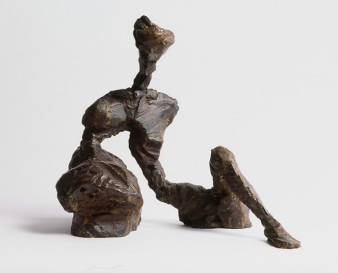bronze sculpture titled Repose by artist camie geary-martin.