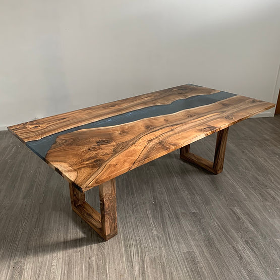 furninture titled Coast to Coast Dining Table by artist benjamin mclaughlin.