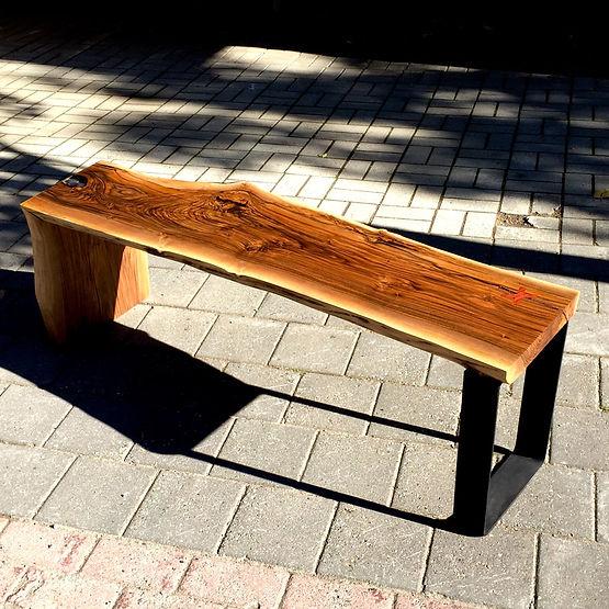furninture titled Walnut Bench by artist benjamin mclaughlin.