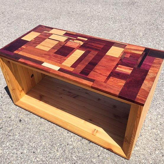 furninture titled Reclaimed Coffee Table by artist benjamin mclaughlin.