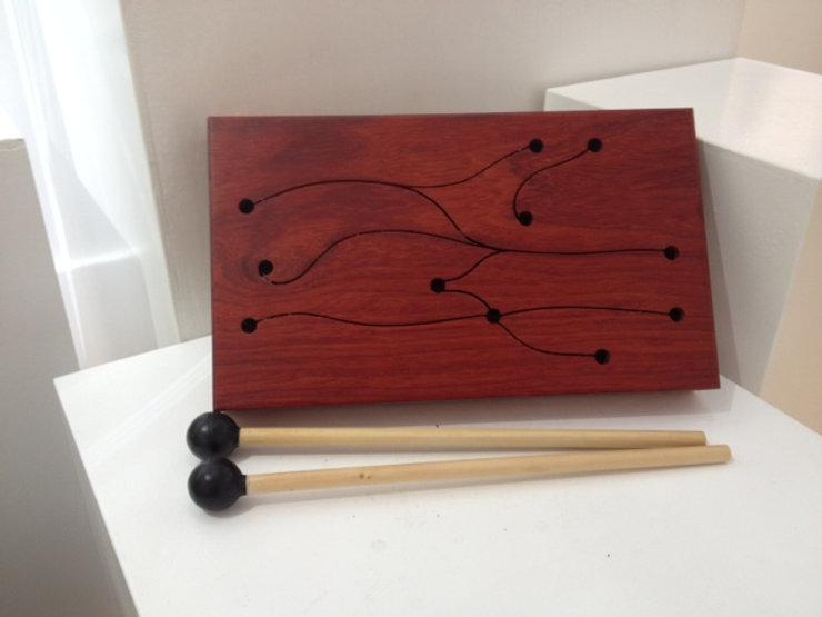 furninture titled SOLD-Mini Talking Drum by artist benjamin mclaughlin.