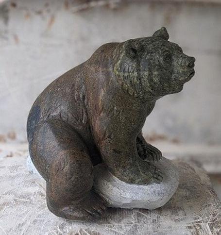 brazilian soapstone sculptor titled Cedar' by sculptor andrew gable.