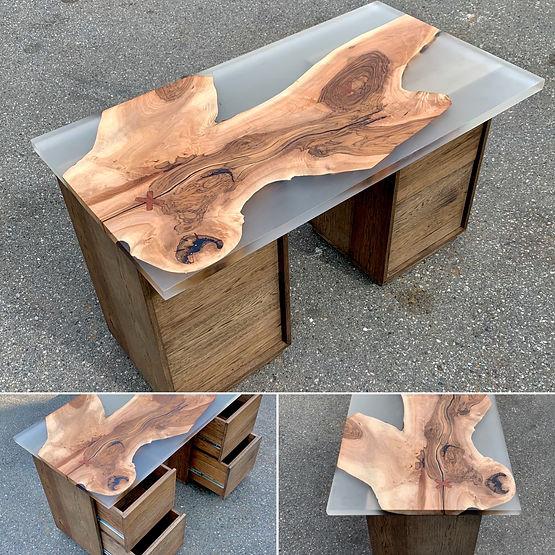 furninture titled SOLD-Desk Commission by artist benjamin mclaughlin.