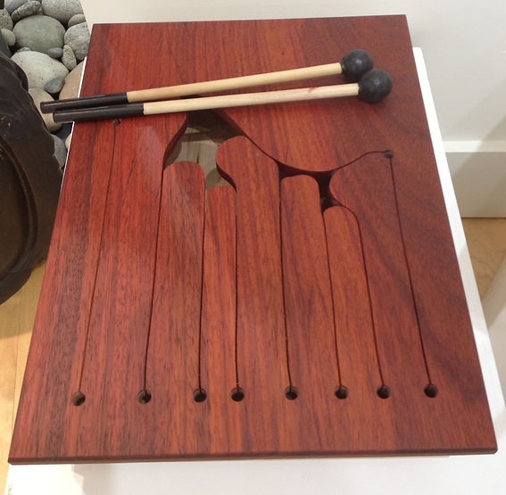 furninture titled SOLD-7 Note Talking Drum by artist benjamin mclaughlin.