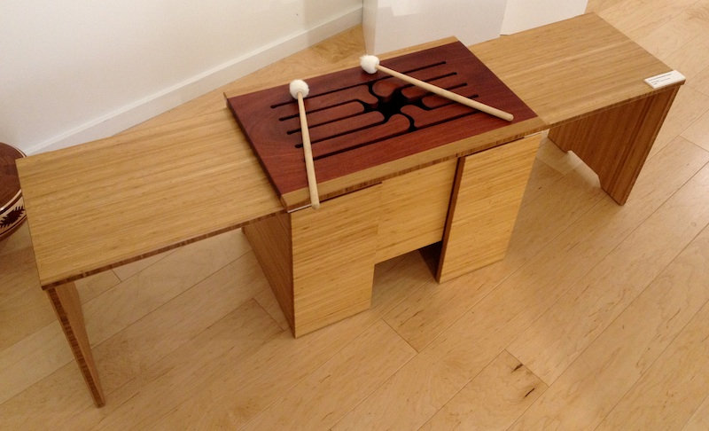 furninture titled SOLD-Ubuntu Bench by artist benjamin mclaughlin.